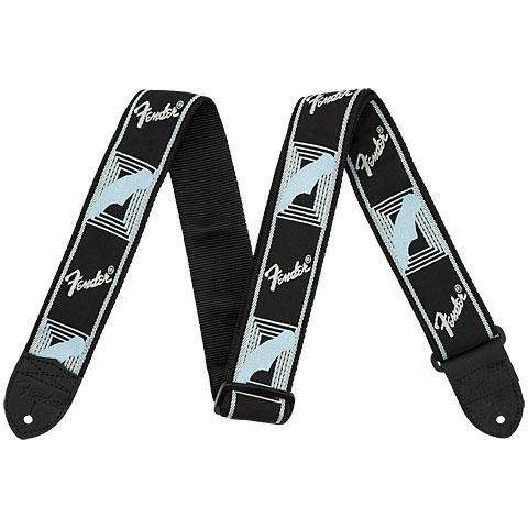 Fender Monogram 2  Black/Light Grey/Blue