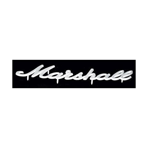 Marshall Logo weiß, groß