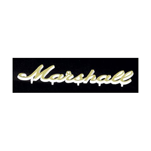 Marshall Logo gold, klein