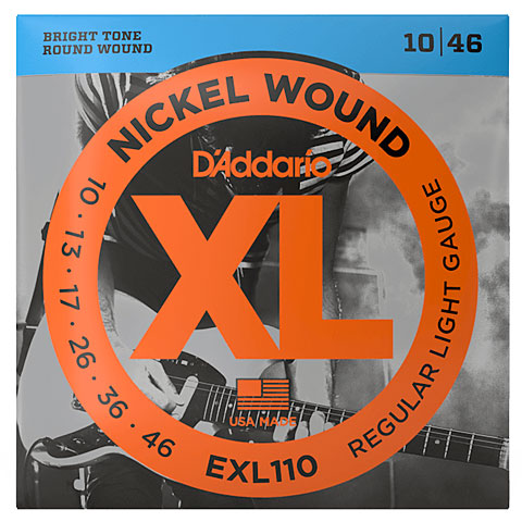 D'Addario EXL110 Nickel Wound .010-046