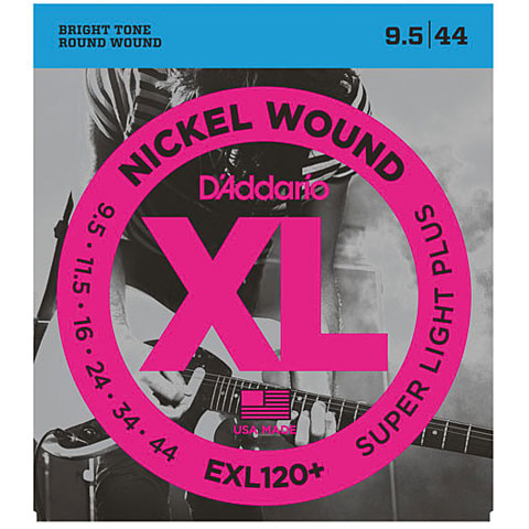 D'Addario EXL120+ Nickel Wound .0095-044