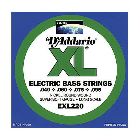 D'Addario EXL220TP Nickel Wound .040-095