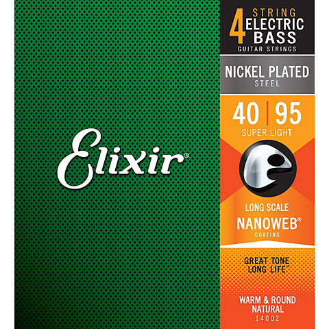 Elixir Nanoweb Super Light .040-095
