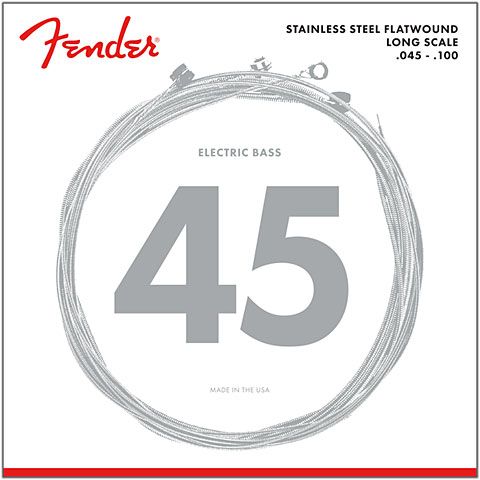 Fender 9050L, 045-100, Flatwound