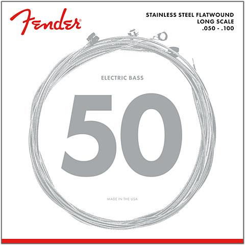 Fender 9050ML, 050-100, Flatwound