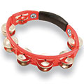 Tambourin Latin Percussion Cyclop LP151 Steel Jingles Tambourine