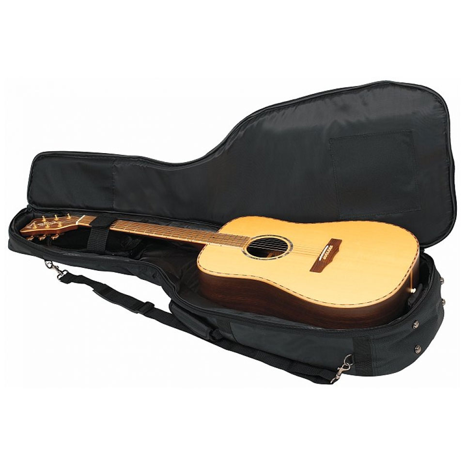 Rockbag deluxe rb20509 b housse guitare acoustique for Housse guitare