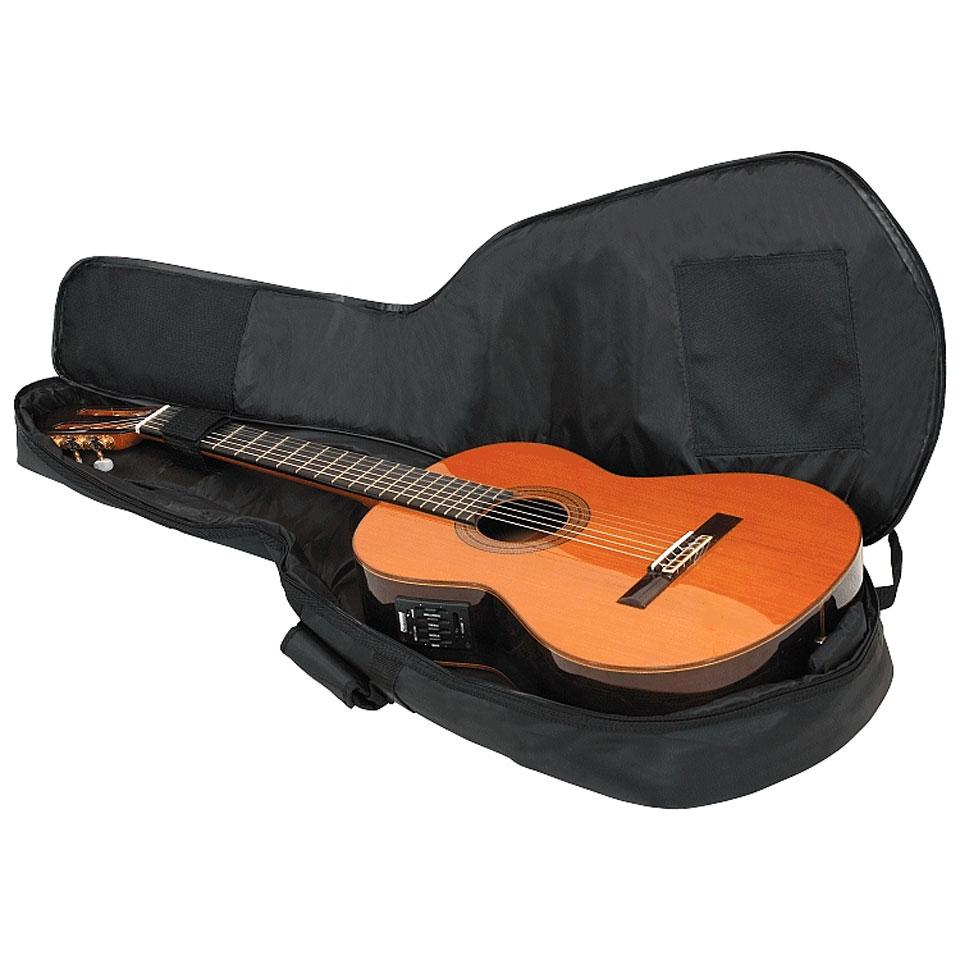 Rockbag deluxe rb20508 b housse guitare classique for Housse guitare classique