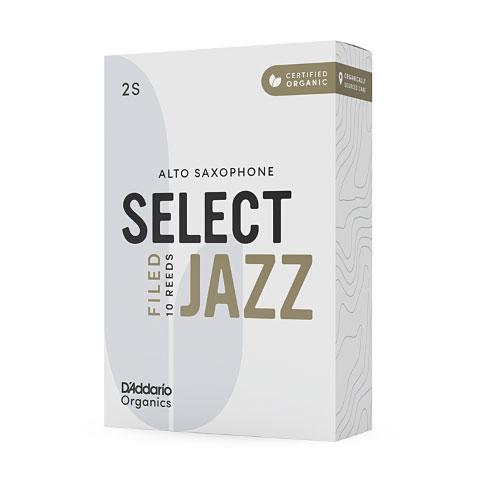 D'Addario Select Jazz Filed Alto Sax 3S
