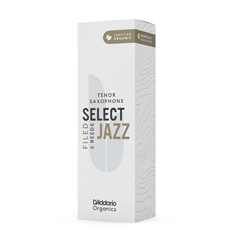 D'Addario Select Jazz Tenorsax filed 2-H