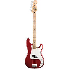 Fender Standard Precision Bass MN Candy Apple Red « Basse électrique