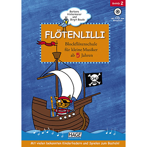 Hage Flötenlilli Bd.2