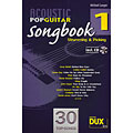 Recueil de Partitions Dux Acoustic Pop Guitar Songbook 1