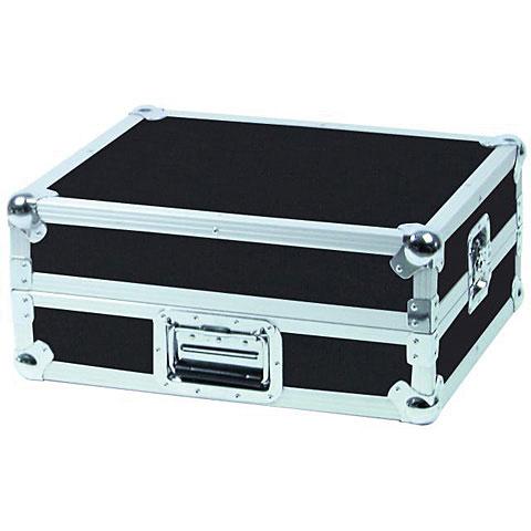 Roadinger Mixer-Case Profi MCB-19, schräg, sw, 6HE