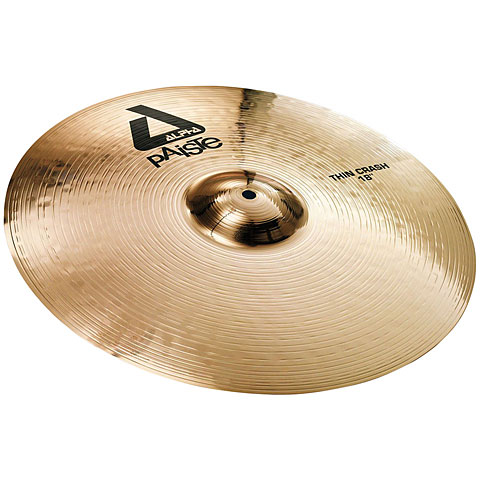 Paiste Alpha Brilliant 18  Thin Crash