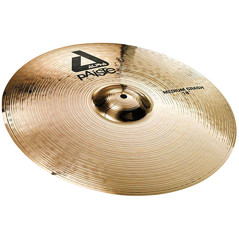 Paiste Alpha Brilliant 18  Medium Crash