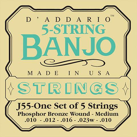 D'Addario J55 5-String Banjo