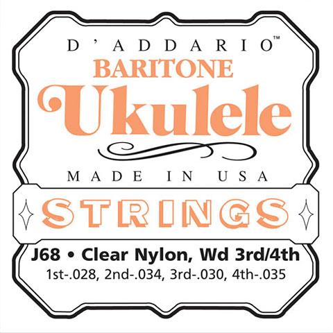 D'Addario J68 Baritone Ukulele