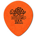 Médiators Dunlop Tortex TearDrop 0,60mm (72Stck)