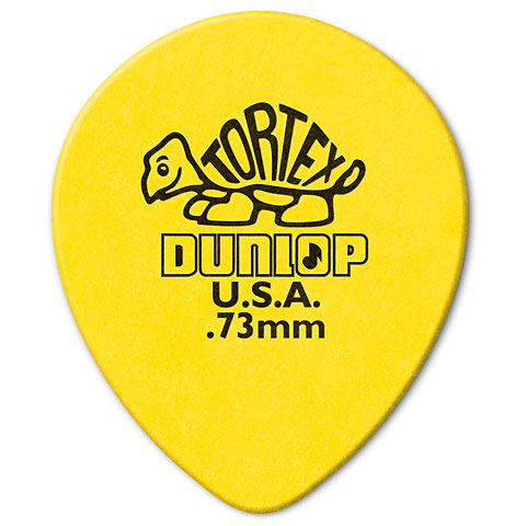 Dunlop Tortex TearDrop 0,73mm (72Stck)
