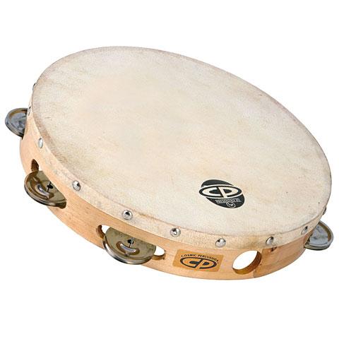 Latin Percussion CP CP379 Wood Headed Tambourine