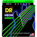 Corde guitare électrique DR Neon Green Medium