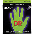 DR Neon Green Heavy « Corde guitare électrique