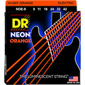 DR Neon Orange Lite « Corde guitare électrique
