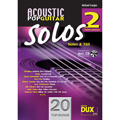 Dux Acoustic Pop Guitar Solos 2