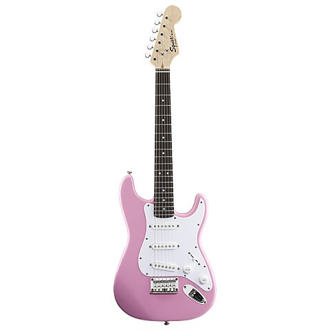 Squier Mini Strat, Pink RW