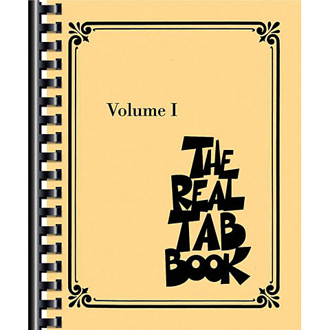 Hal Leonard The Real Tab Book Vol.1