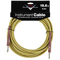 Câble pour instrument Fender Custom Shop Performance Tweed 5,5 m