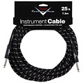 Câble pour instrument Fender Custom Shop Performance Black Tweed 7,5 m
