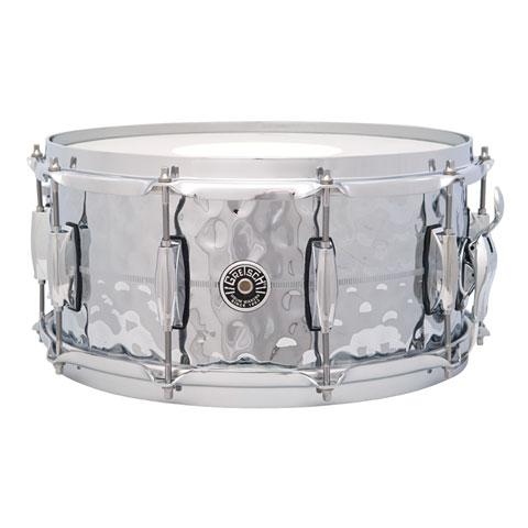 Gretsch USA Brooklyn 14  x 6,5  Hammered Chrome over Brass Snare