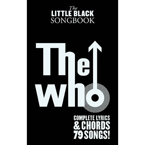 Music Sales The Little Black Songbook The Who