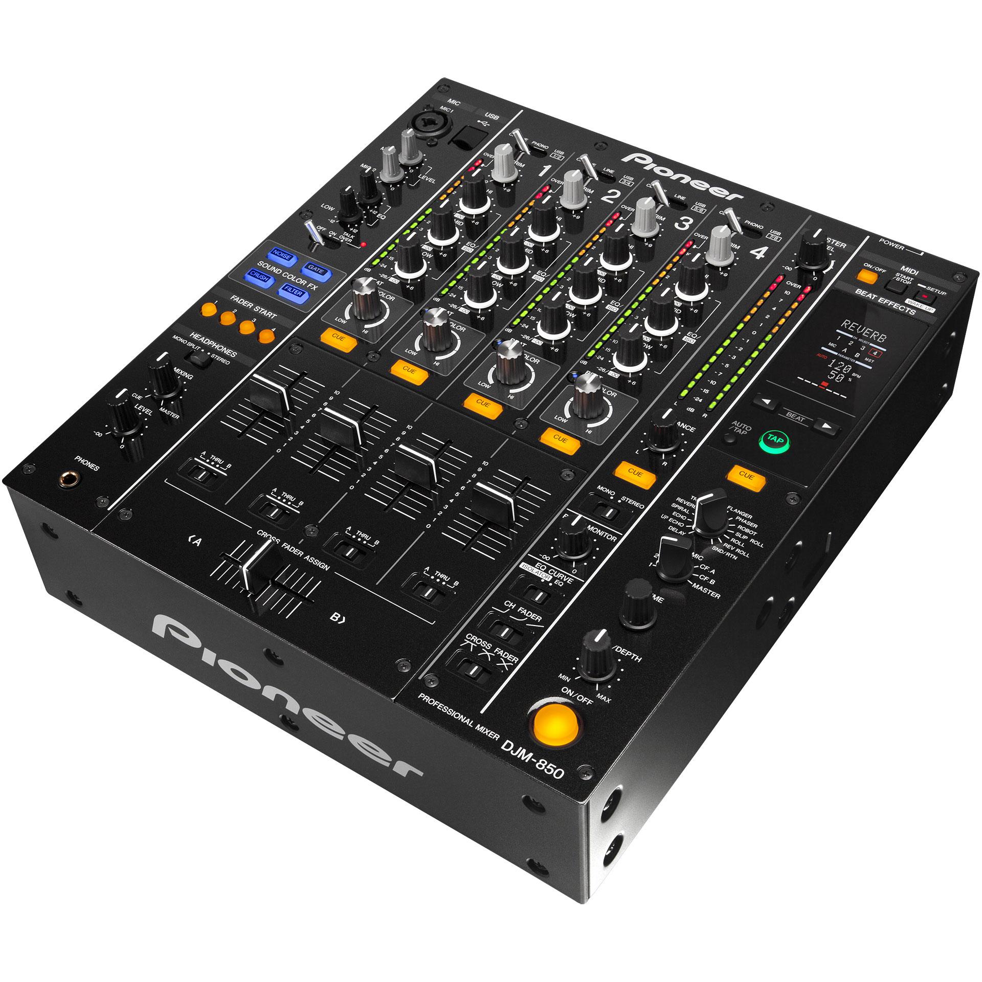 Pioneer djm 850 k console de mixage dj - Pioneer table de mixage ...