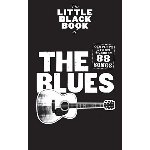 Music Sales The Little Black Songbook The Blues