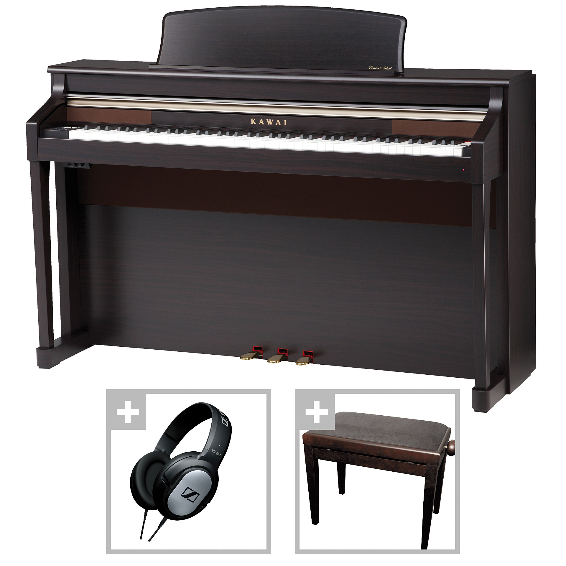 Kawai ca 95 rw bundle piano num rique for 2 box auto separati piani gratuiti