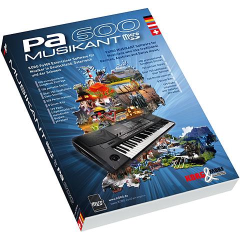 Korg PA 600 Musikant Software