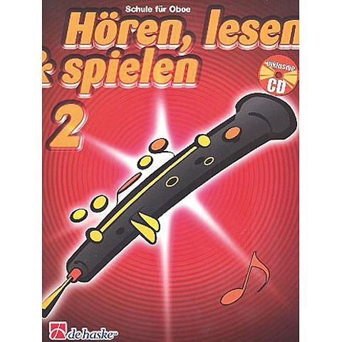 De Haske Hören,Lesen&Spielen Bd. 2 für Oboe