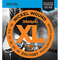 Corde guitare électrique D'Addario EXL110BT Nickel Wound .010-046