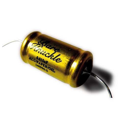 Bare Knuckle Jensen Capacitor 0.015µfd