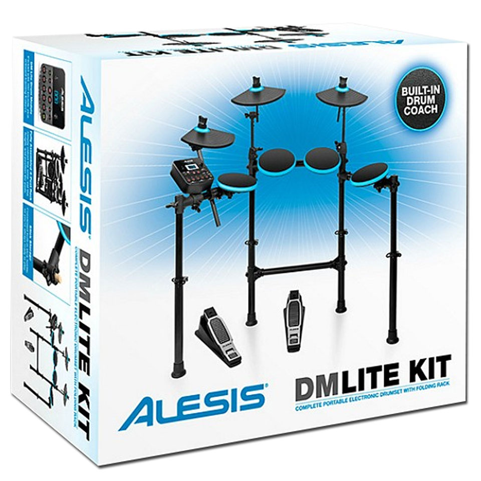alesis dm lite kit batterie lectronique. Black Bedroom Furniture Sets. Home Design Ideas