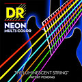 Corde guitare électrique DR NEON Hi-Def MULTI-COLOR Medium