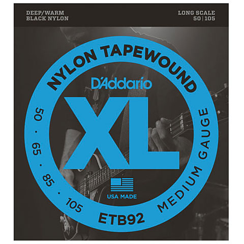 D'Addario ETB92 Nylon Tapewound .050-105