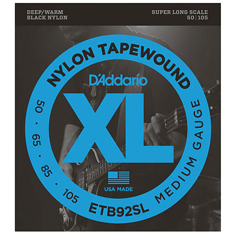 D'Addario ETB92SL Nylon Tapewound .050-105