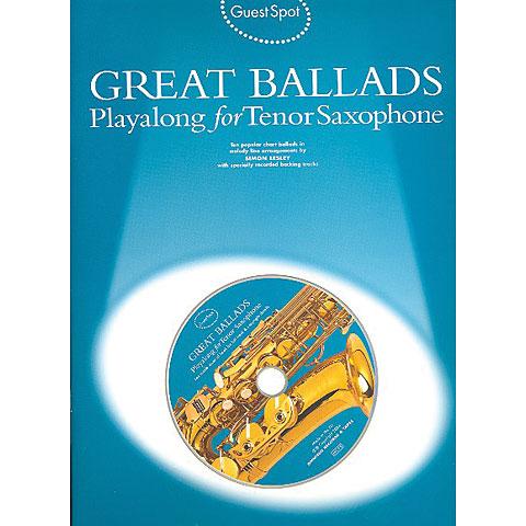 Music Sales Guest Spot Great Ballads