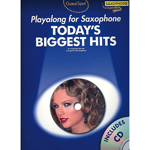 Music Sales Guest Spot Today`s Biggest Hits