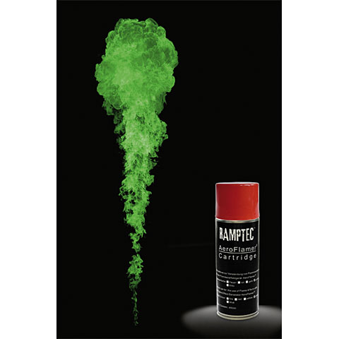 Ramptec Aerosolfluid, green, 450 ml