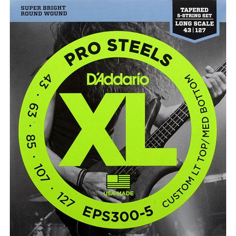 D'Addario EPS300-5 Pro Steels .043-127